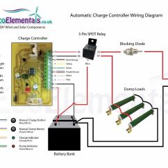 Solar Panel Charge Controller Circuit Diagram 99 Tahoe Brake Light Switch Wiring For Diy Wind Turbine Or