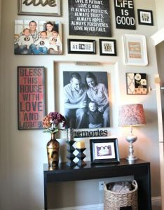 also designing  gallery wall pinspiration entry hall and galleries rh pinterest
