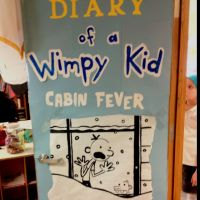 """Decorate your classroom doors as a book for """"I love to"""