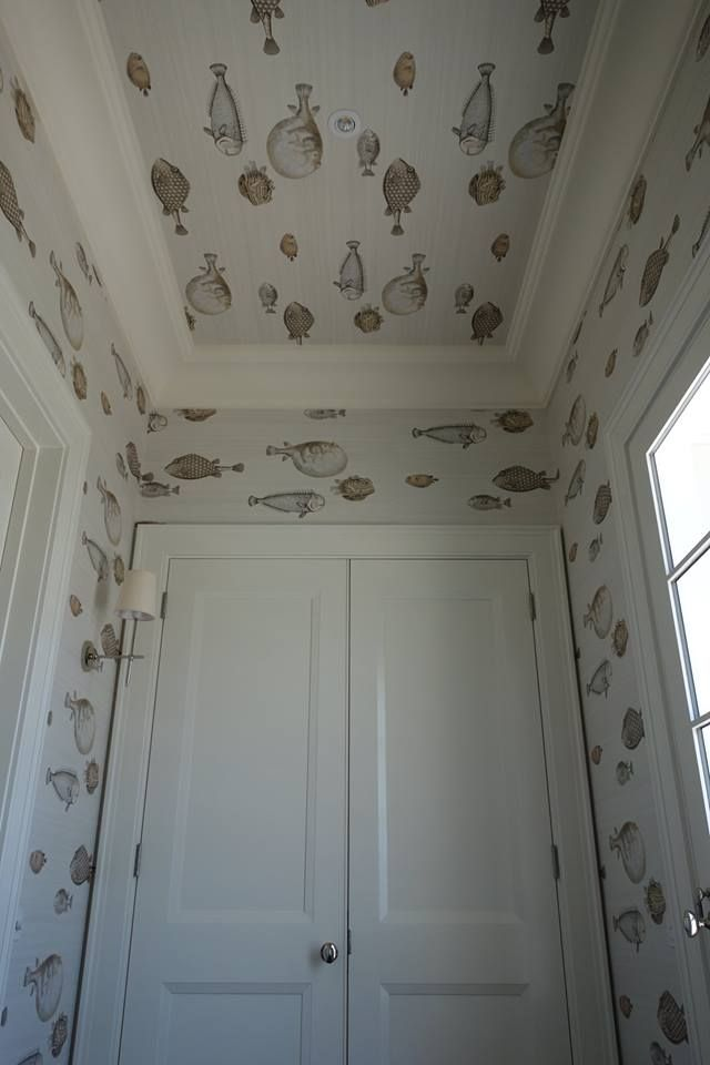 Fornasettis Wallpaper Acquario By Cole Amp Son Cole Amp Son At Places Pinterest Patterns