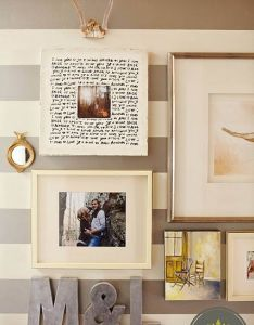 Frame mirrors also  like the letter idea for collage want over my bed rh pinterest