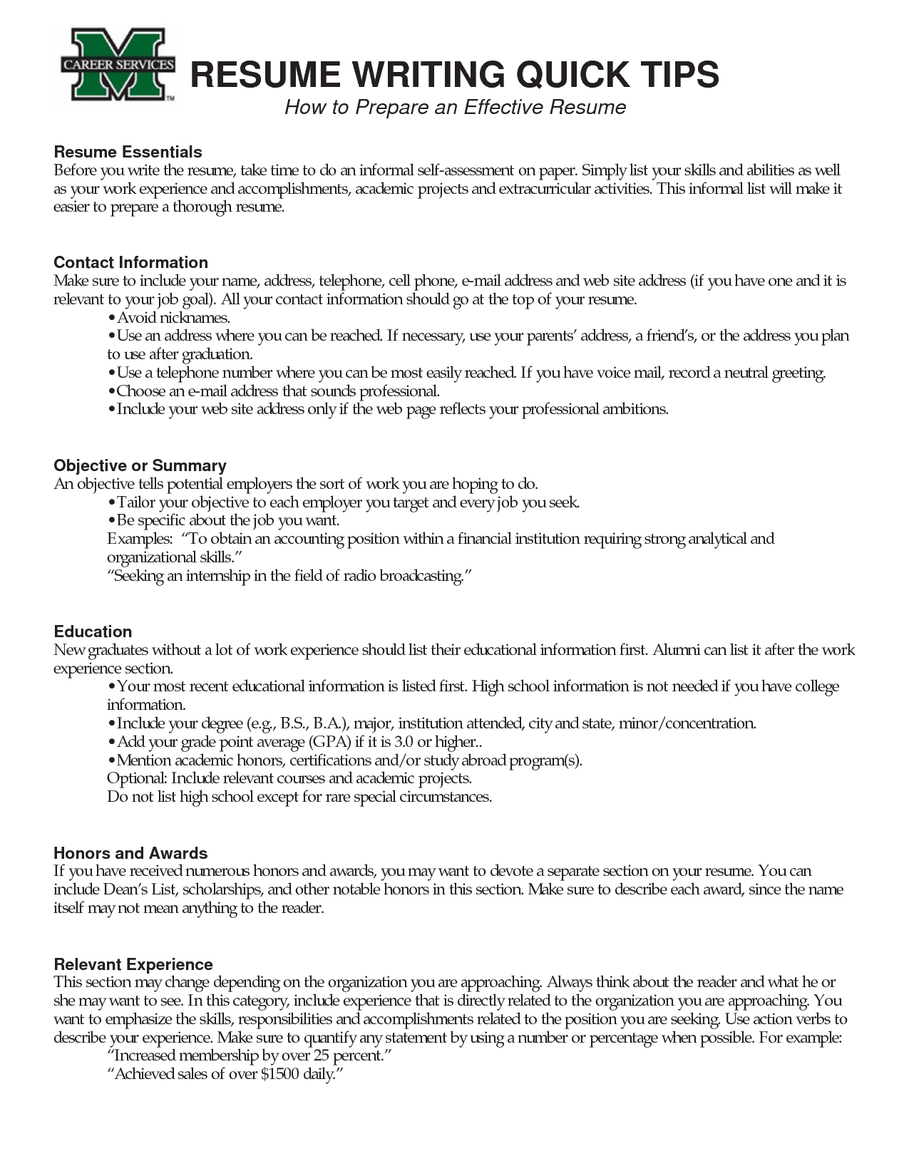 How To Make An Effective Resume Tips Effective Resume Writing Loseyourlovewriting A Resume