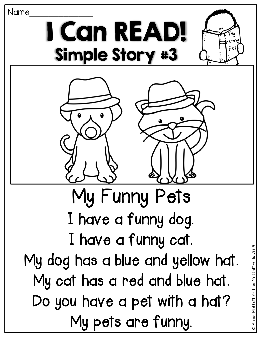 I Can Read Simple Stories Simple Stories Made Up Of Sight Words And Cvc Words To Help Build