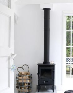 An interior free standing stove amazingly clean and tidy for now also rh pinterest