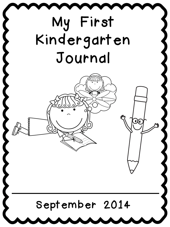 Kindergarten Celebration: FREE Journal Covers~~~ different