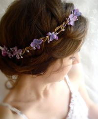 Reserved for D.Browning | Flower hair wreaths, Hair ...