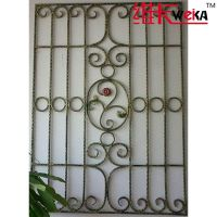 high quanlity security iron window grills