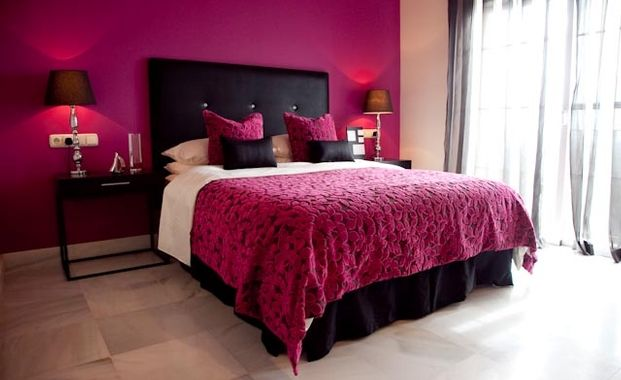 1000 Images About Bedroom On Hot Pink Black Bedrooms And Designs House