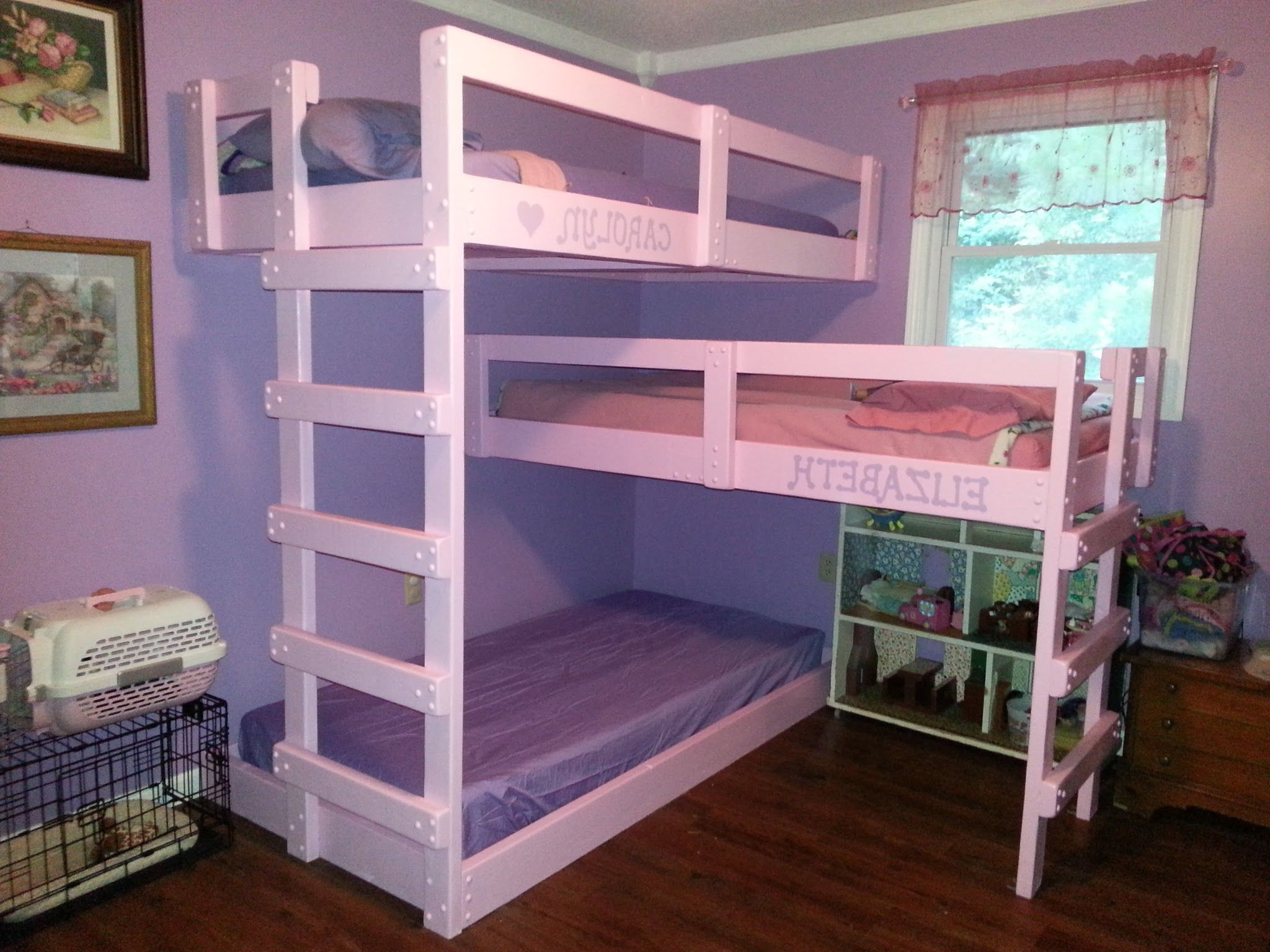 Bedroom , Smart Beds for Small Bedrooms Ideas : Triple