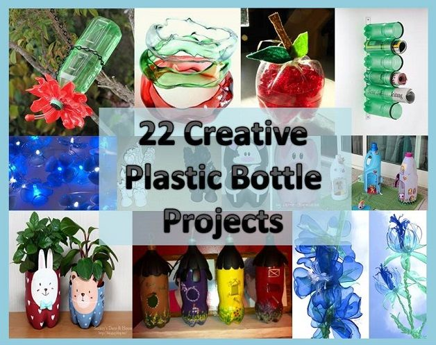 Craft Home And Garden Ideas 22 Creative Plastic Bottle Projects