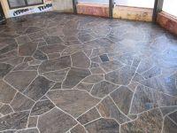 flagstone floor   MLA BARBER SHOP   Pinterest   Floors and ...