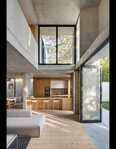 family home in sydney australia the project is primarily focused on interconnections of cloistered spaces created and selected framed openings also aussies losing faith ownership as means security rh za pinterest
