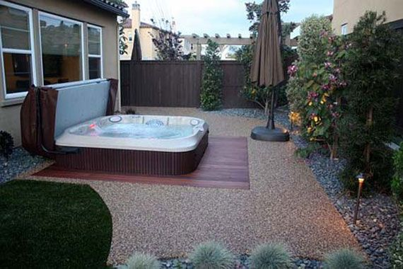 Jacuzzi Decorating Ideas Outdoor Jacuzzi Design Ideas For