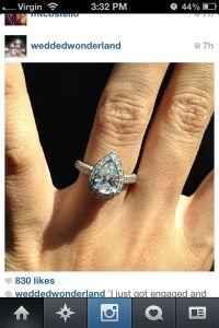 Tear drop/almond shape ring | Engagement Rings & Wedding ...