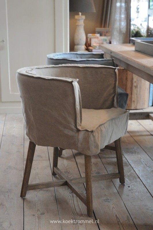 De stijlvolle eetkamerstoelen Woodie van Netty de Groot