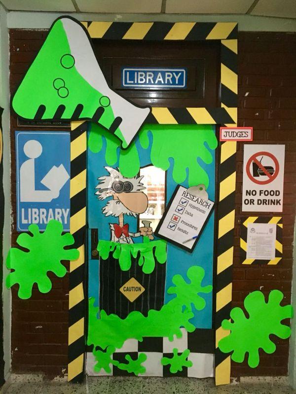 Library Science Door Doors