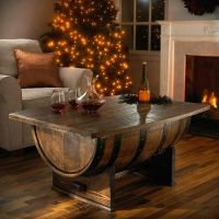 Bourbon Barrel Coffee Table   Home Living   Pinterest ...