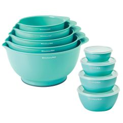 Kitchen Aid Mixing Bowls Jk Cabinets The Chew Chef 39s Helper 10 Piece Turbo Prep Set