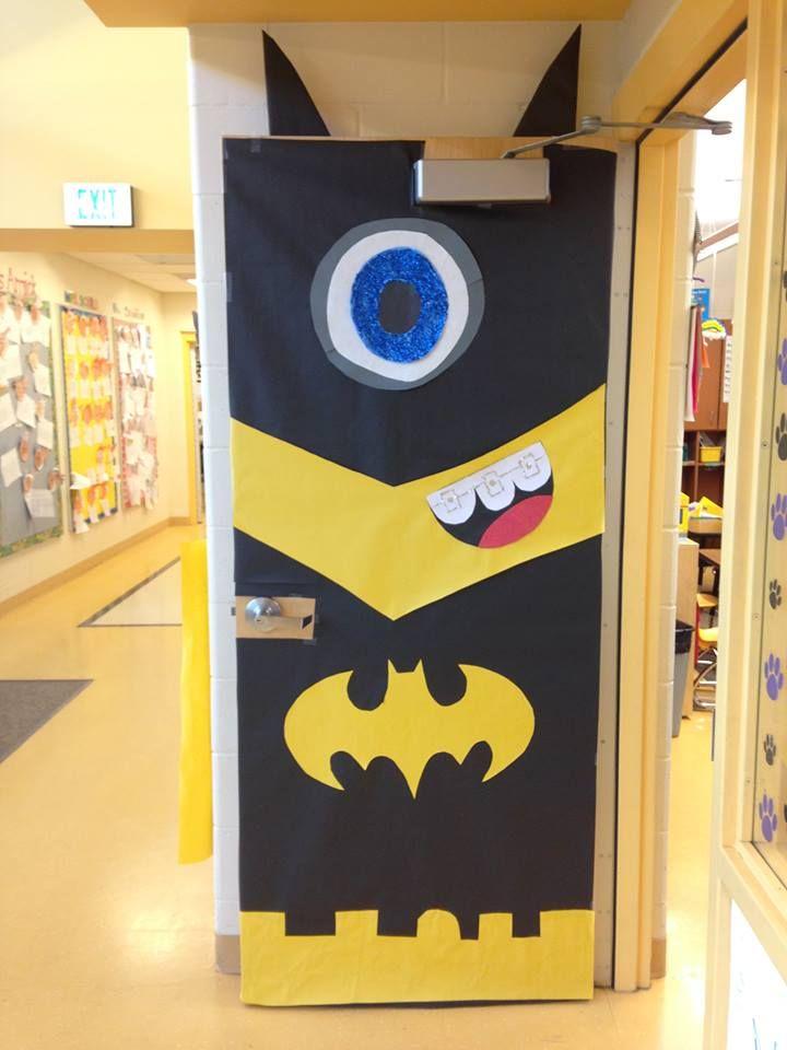 A Door Decoration I Made For Our First Grade Superhero