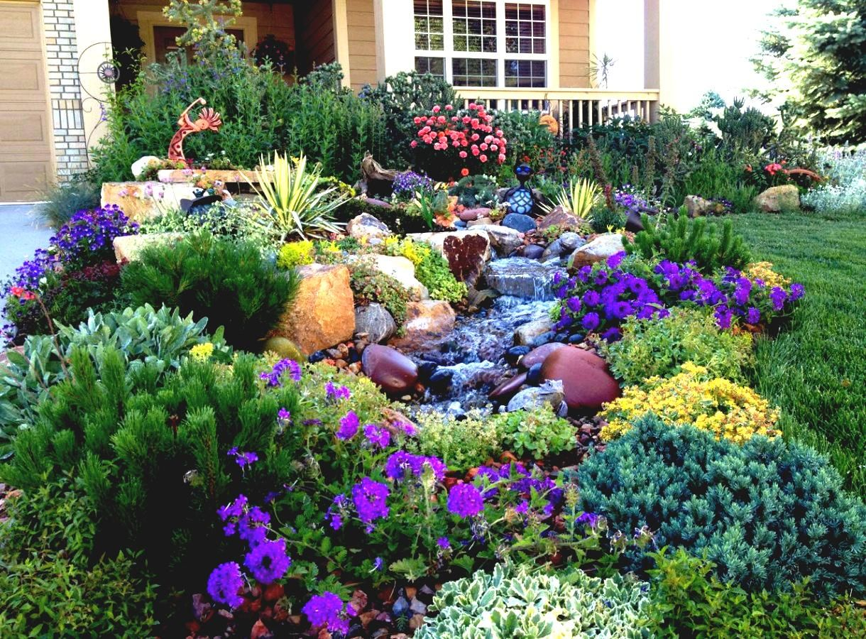 Flower Garden Designs For Full Sun Home Decorating Ideas And Tips