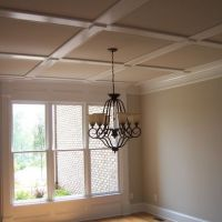Flat Coffered Ceiling Design, Pictures, Remodel, Decor and ...