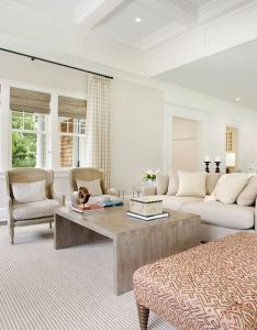 Interior designer gale sitomer says to look your surroundings when selecting textiles for summer home sisal rugs textured linens and airy sheers also rh pinterest