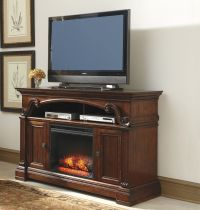 Alymere Large TV Stand w/ Fireplace Option by Ashley ...