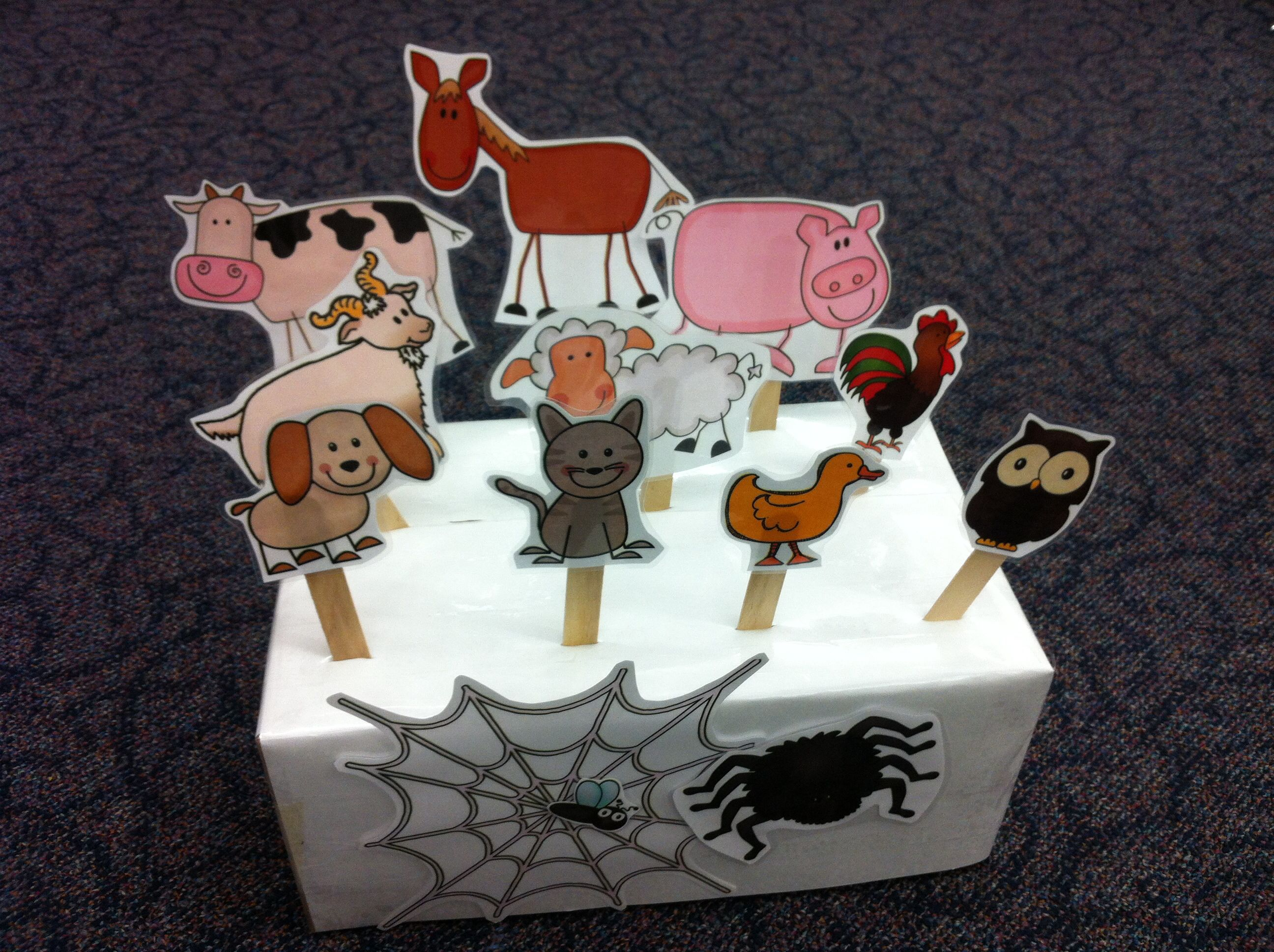 How I Used The Very Busy Spider Printables In Prek