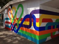 mural at micheltorena elementary school in los angeles, by ...
