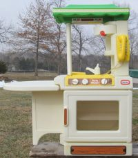 Vintage Little Tikes Party Kitchen Childs Playset Made in ...
