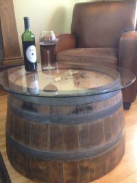 Wine barrel coffee table | Turning A House Into A Home ...