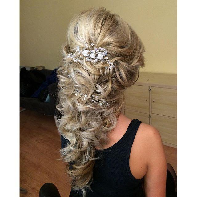 Beautiful Prom Hairstyles By Anna Sartakova Russia! Winter