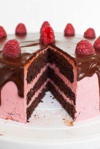 Schoko-Himbeer-Torte mit cremiger Ganache | REZEPTE ...