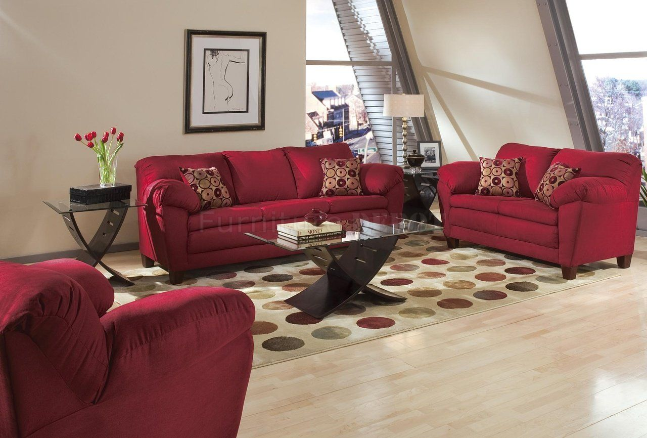 What Color Walls Go With Burgundy Furniture · Burgundy Couch Living Rooms  Ideas