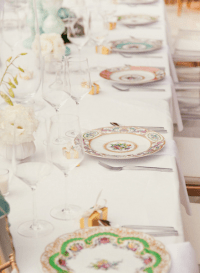 Vintage style table setting #vintage | Wedding Ideas ...