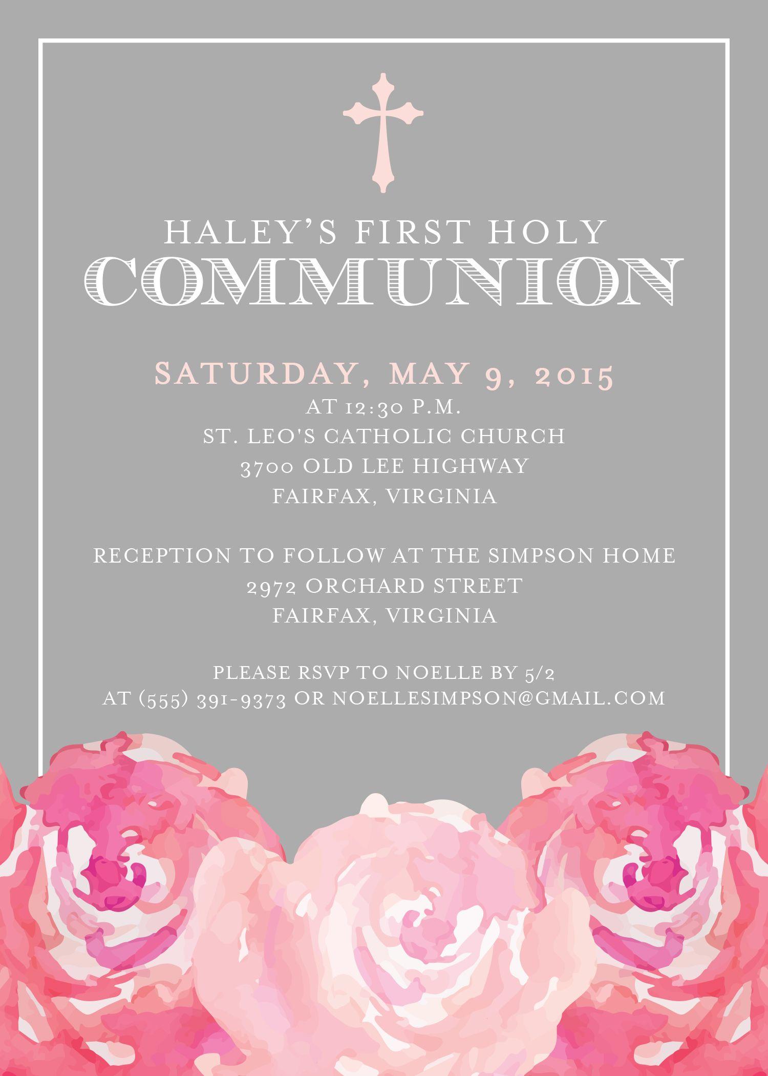 Cheap Confirmation Invitations