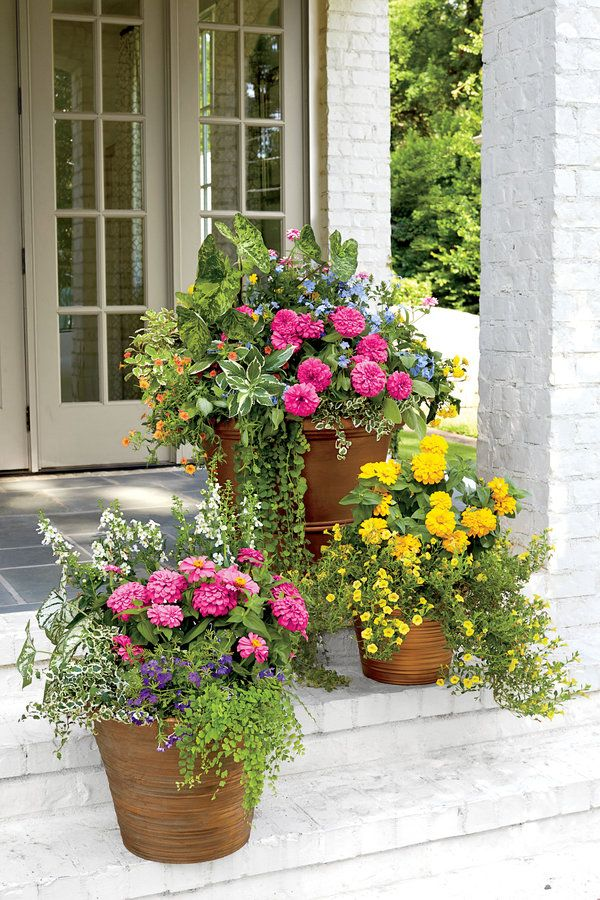 Traditional Freestanding Container 122 Container Gardening Ideas