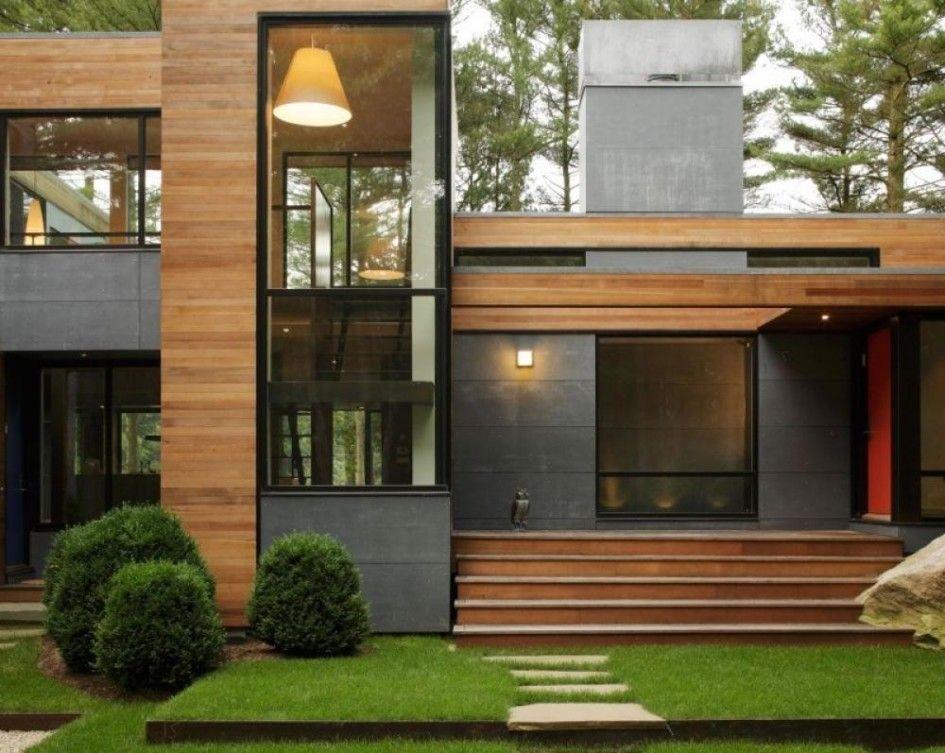 modern house exterior materials gallery  Recherche Google  Houses architecture  Pinterest