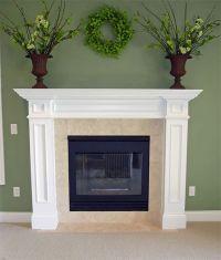 Best 25+ White fireplace mantels ideas on Pinterest