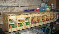 81 Can FIFO - Bulk Can Dispenser / Organizer | Supplies ...