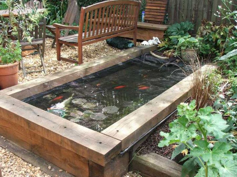 25 Best Ideas About Raised Pond On Pinterest Fish Pond Gardens