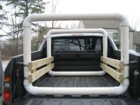Image result for diy pvc canoe rack for truck | Camping ...