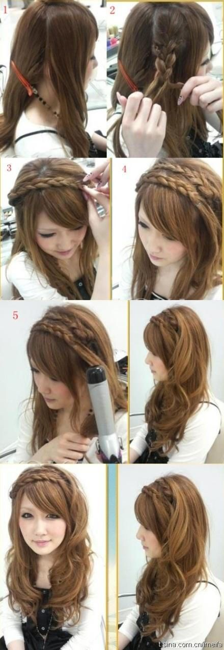10 Quick And Easy Hairstyles Step By Step 20 Beautiful
