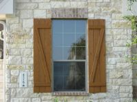 decorative house shutters ideas
