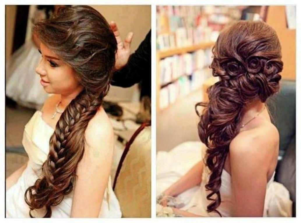 Bridal Hair Wedding Day Wedding Hairstyles For Long Hair