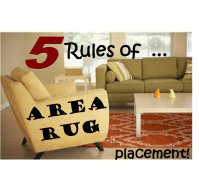 5 Rules of Area Rug Placement | Home decor | Pinterest ...