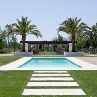modern sonoma farmhouse. landscape design by Regina Rollin ...