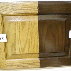 Sanding And Restaining Kitchen Cabinets Price Pfister Treviso Faucet How To Transform Oak Cabinet Refinishing