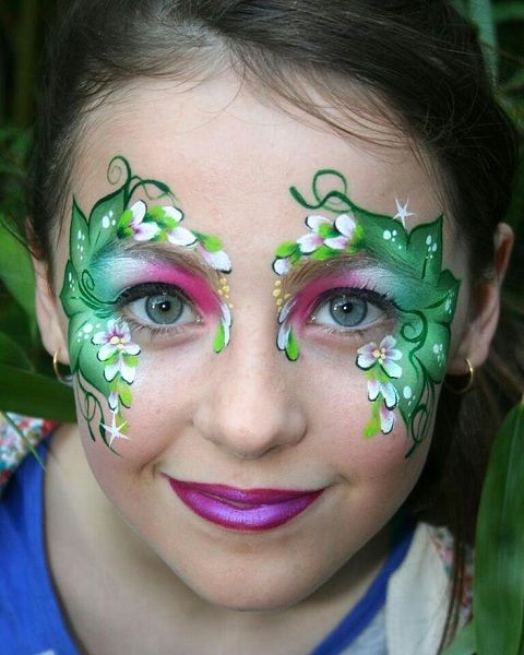 mother nature face paint Google Search Kids parties