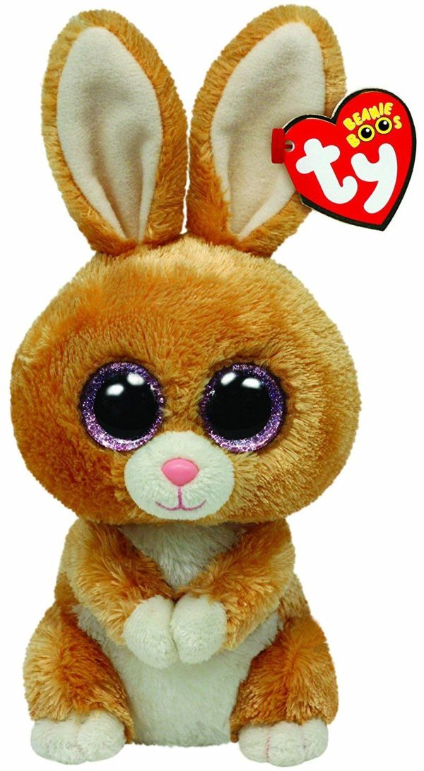 Ty Beanie Boos Carrots Brown Bunny Plush 36106 And